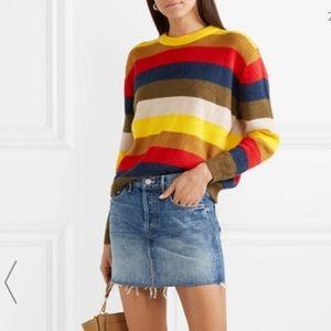 """Mother """"Vagabond"""" denim mini skirt"""
